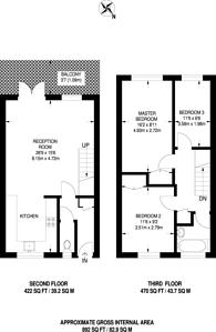 Large floorplan for Leyton Grange Estate, Leyton, E10