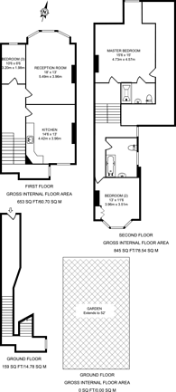 Large floorplan for Tierney Road, Streatham Hill, SW2