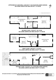 Large floorplan for Conduit Mews, Hyde Park Estate, W2
