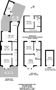 Large floorplan for The Ridgeway, Acton, W3
