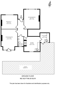 Large floorplan for Madeira Road, Streatham, SW16
