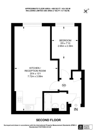 Large floorplan for Brewhouse Lane, Putney, SW15