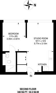 Large floorplan for Lampton Road, Hounslow, TW3