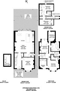 Large floorplan for Mortlake Road, Kew, TW9