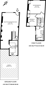 Large floorplan for Kenway Road, Earls Court, SW5