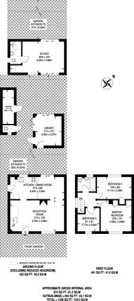 Large floorplan for Ufford Close, Harrow Weald, HA3