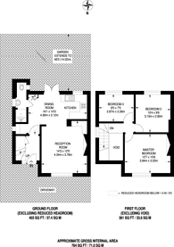 Large floorplan for Greenway, Pinner, HA5
