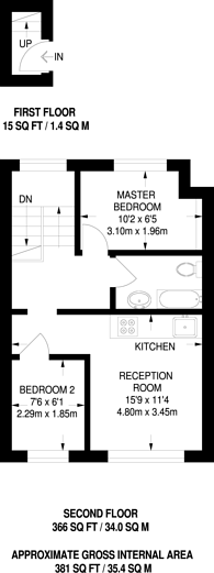 Large floorplan for Walters Road, South Norwood, SE25