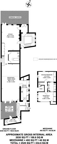 Large floorplan for St Oswalds Place, Vauxhall, Vauxhall, SE11