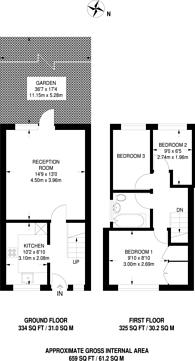 Large floorplan for Exeter Close, Beckton, E6