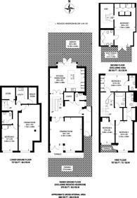 Large floorplan for Cottenham Park Road, Cottenham Park, SW20