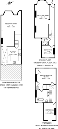 Large floorplan for Leconfield Road, Islington, N5