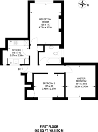 Large floorplan for Holsgrove Court, Bromyard Avenue, Acton, W3