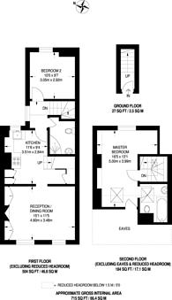 Large floorplan for Northfield Avenue, Northfields, W13