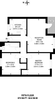 Large floorplan for Pelican Estate, Peckham, SE15