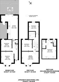 Large floorplan for Marsala Road, Lewisham, SE13