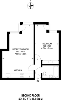 Large floorplan for Redchurch Street, Shoreditch, E2