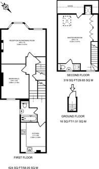 Large floorplan for Acton Lane, Acton, W3