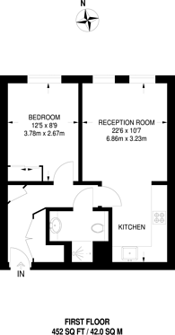 Large floorplan for Dalston Square, Dalston, E8