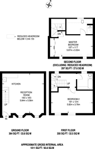 Large floorplan for Albion Mews, Hyde Park Estate, W2