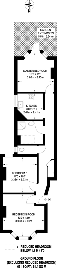 Large floorplan for George Lane, Hither Green, SE13