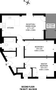 Large floorplan for Juniper Close, Rayners Lane, HA2