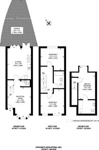 Large floorplan for Shernhall Street, Walthamstow Village, E17