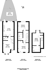 Large floorplan for Shernhall Street, Walthamstow Village, E17