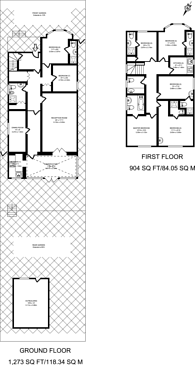 Large floorplan for Thornlaw Road, West Norwood, SE27