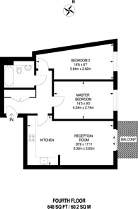 Large floorplan for Devons Road, Tower Hamlets, E3