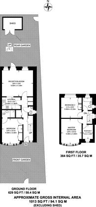 Large floorplan for West Twyford, West Twyford, NW10