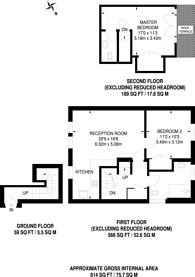 Large floorplan for Lady Margaret Road, Tufnell Park, N19