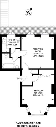 Large floorplan for North Road, Surbiton, KT6