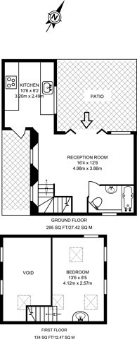 Large floorplan for New Road, Brentford, TW8