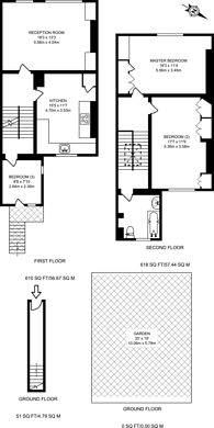 Large floorplan for Geraldine Road, Wandsworth, SW18