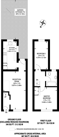 Large floorplan for Southbridge Place, Croydon, CR0