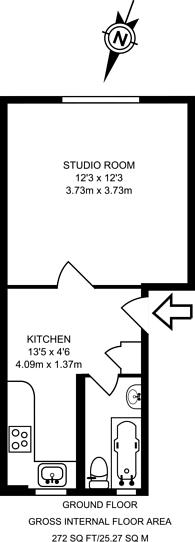 Large floorplan for Noel Road, Islington, N1