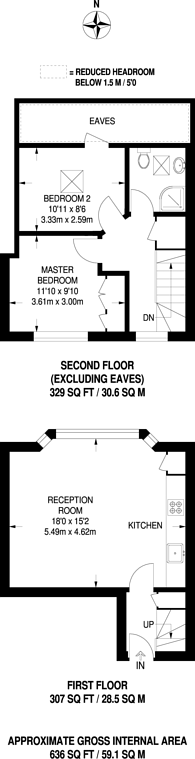 Large floorplan for Kingston Road, South Wimbledon, SW19