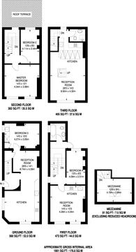 Large floorplan for Newark Street, Whitechapel, E1
