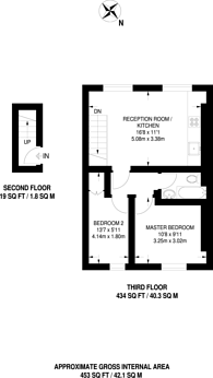 Large floorplan for Chepstow Road, Westbourne Grove, W2