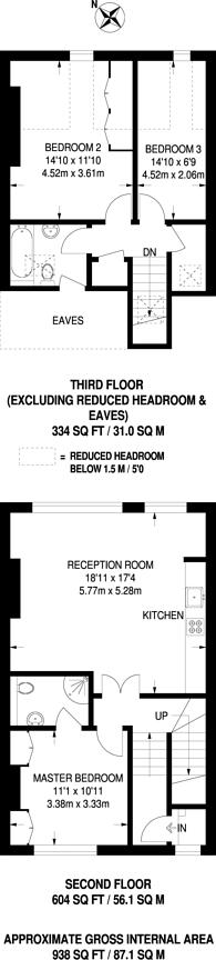Large floorplan for St Lawrence Terrace, Portobello, W10