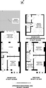 Large floorplan for Brigstock Road, Thornton Heath, CR7