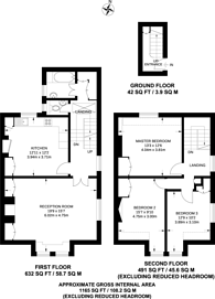 Large floorplan for Swift Street, Parsons Green, SW6