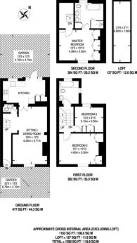Large floorplan for Christchurch Street, Chelsea, SW3