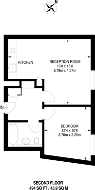 Large floorplan for The Sun Quarter, Wendell Park, W12
