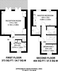 Large floorplan for Oakley Street, Chelsea, SW3