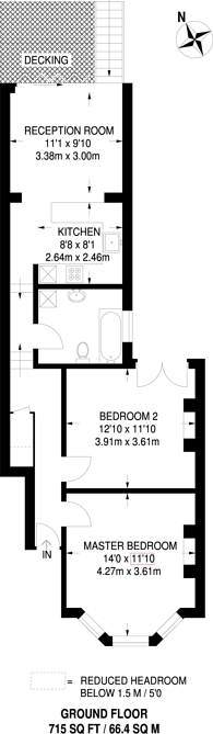 Large floorplan for College Road, Winchmore Hill, N21