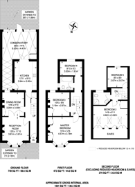 Large floorplan for Halley Road, Forest Gate, E7