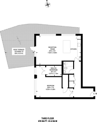 Large floorplan for Drysdale Street, Hoxton, N1