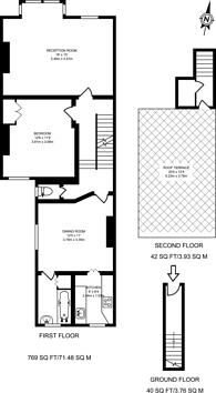 Large floorplan for Lambert Road, Brixton Hill, SW2